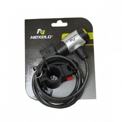 Zapięcie rowerowe na klucz NEXELO fi 8 x1500mm