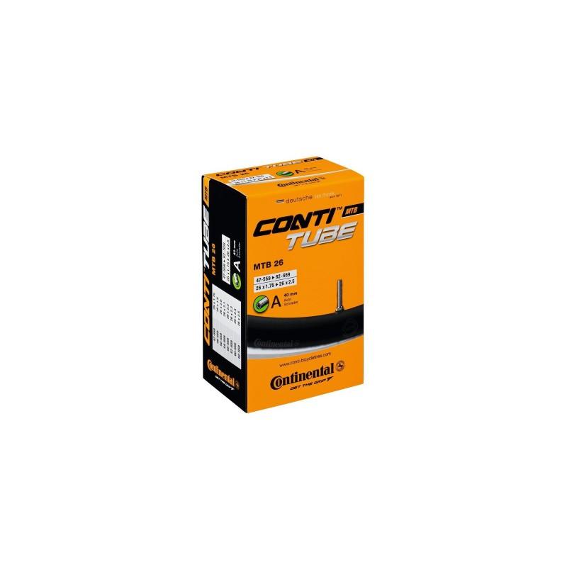 Dętka rowerowerowa Continental 26 1,75 - 2,25 AV40