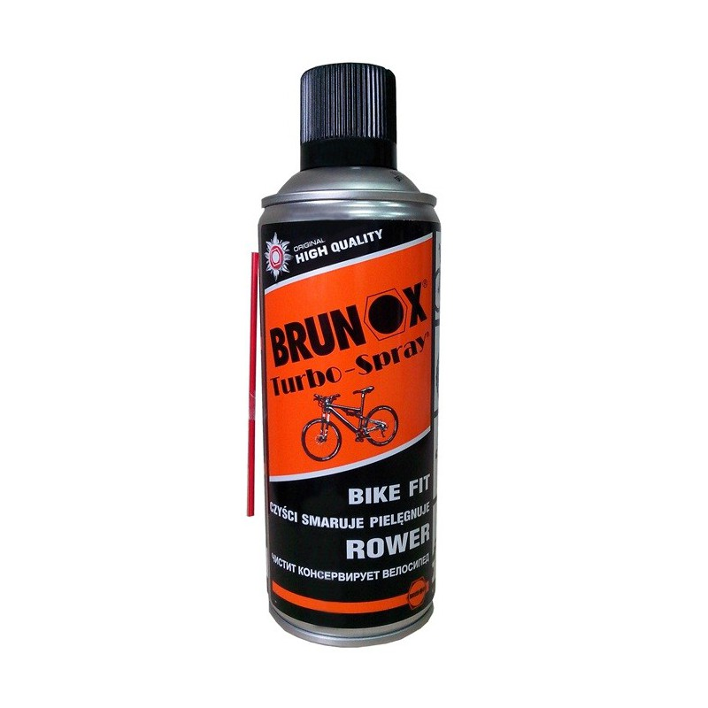 BRUNOX DEO TURBO-SPRAY BIKE FIT W AEROZOLU 400ml