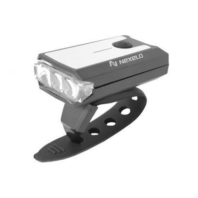 LAMPA AKUMULATOROWA PRZEDNIA 1-LED MINI NEXELO USB