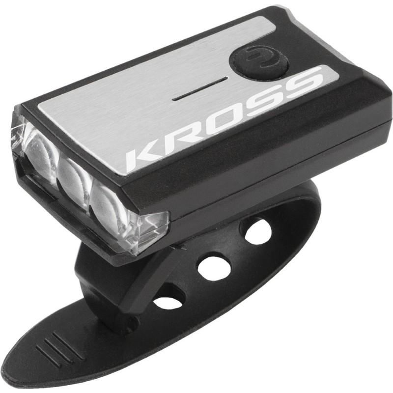 Lampka rowerowa przednia na USB - KROSS NEAT USB