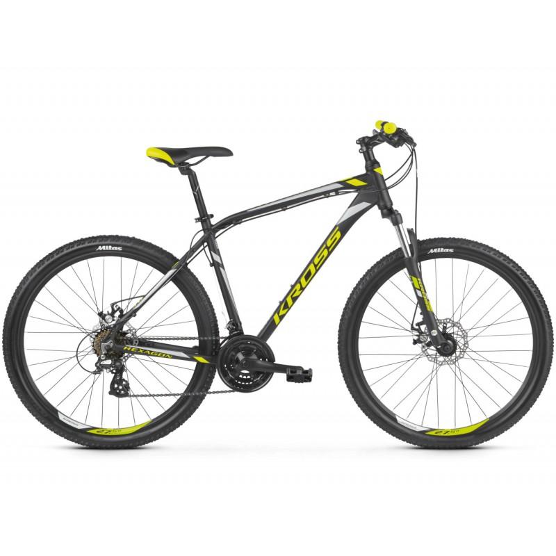 Rower KROSS OUTLET HEXAGON 3.0 2019 + NÓŻKA KROSS MARABOU GRATIS !