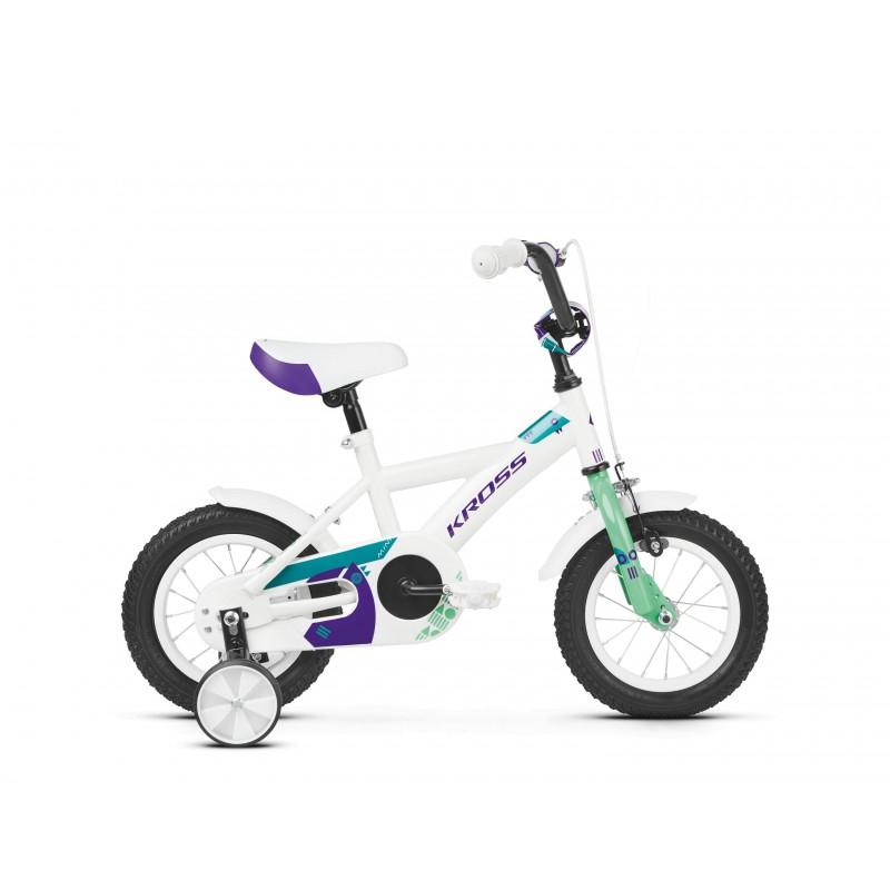 Rower dziecięcy KROSS MINI 1.0 2019 z bocznymi kółkami