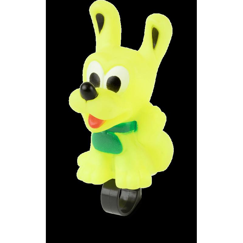 Dzwonek rowerowy dziecięcy - piszczałka KROSS DOG - pies