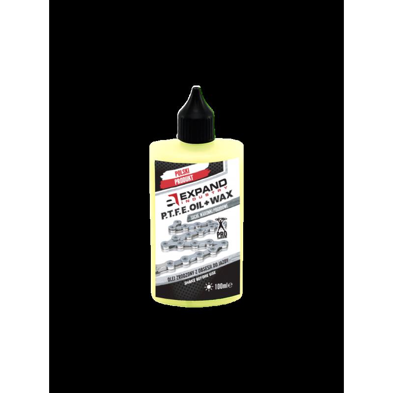 Olej Expand Chain P.T.F.E. OIL+ WAX 100 ml - suche warunki pogodowe
