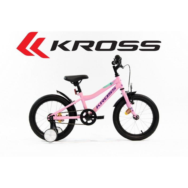 Rower dziecięcy KROSS Mini 3.0 2020 różowy