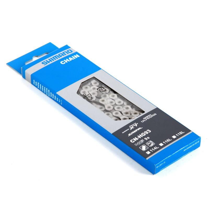 Łańcuch Shimano XT CN-HG93 114 ogniw 9rz